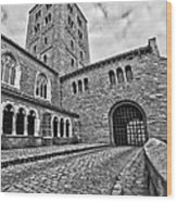 Road To The Gatehouse Wood Print
