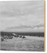 Road To The Sierra Madre Wood Print