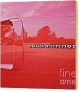 Roadrunner Wood Print