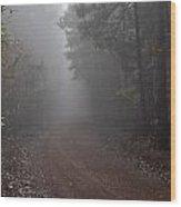 Roads 22 Wood Print