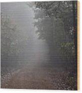 Roads 26 Wood Print