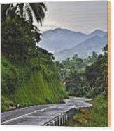 Roads Wood Print