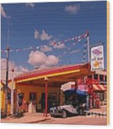 Roadside Near Deadwood South Dakota Wood Print