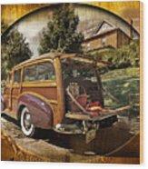 Roadside Picnic Wood Print