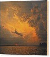 Roar Of The Heavens Wood Print