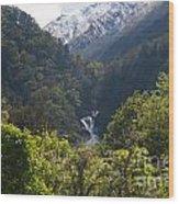 Roaring Billy Falls Wood Print