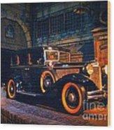 Roaring Twenties Wood Print