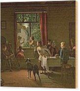 Roast Pig, 1862 Wood Print