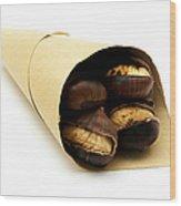 Roasted Chestnut Wood Print