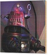 Robby The Robot 1956 Wood Print