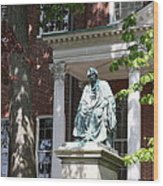 Robert Brooke Taney Statue - Maryland State House  Wood Print