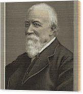 Robert Browning  Writer        Date Wood Print