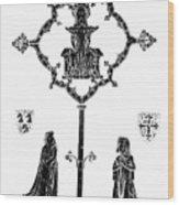 Robert De Paris And Widow Wood Print