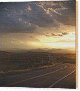Robert Melvin - Fine Art Photography - Arizona Sunset Wood Print