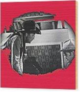 Robert Mitchum Robert Walker Confrontation Young Billy Young Set Old Tucson Arizona 1968 Wood Print