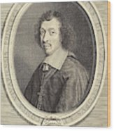 Robert Nanteuil French, 1623 - 1678, Louis-francois De La Wood Print
