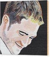 Robert Pattinson 121 Wood Print