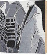 Robert Pattinson 129 Wood Print
