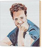 Robert Pattinson 130 Wood Print