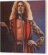 Robert Plant 2 Wood Print
