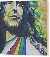 Robert Plant.. Led Zeppelin Wood Print