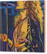 Robert Plant. Kashmir Wood Print