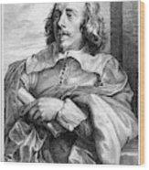 Robert Van Voerst (1597-1635/36) Wood Print