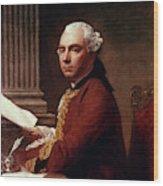 Robert Wood (c1717-1771) Wood Print