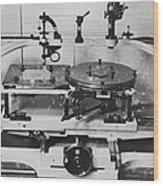 Roberts' Stellar Pantograver Wood Print by Science Photo Library