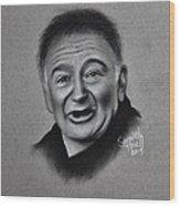 Robin Williams Tribute Wood Print