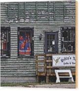 Robin's Nest Store In Autumn Michigan Usa Wood Print