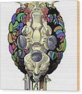 Robot God - Trinity 2.0 Wood Print