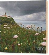Roca Lighthouse Wood Print