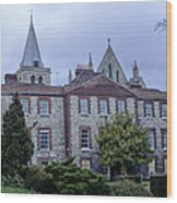 Rochester Cathedral Cafe Wood Print
