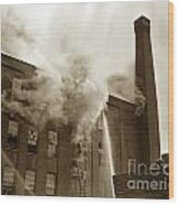 Rochester Show Case Co. Fire New York Circa 1904 Wood Print
