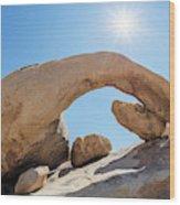 Rock Arch Wood Print
