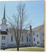 Rock Creek Church Wood Print