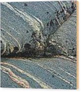 Rock Formation 1b Wood Print