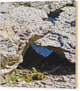 Rock Formation Devonian Fossil Gorge Wood Print