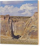 Rock Formations At Capital Reef Wood Print