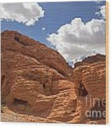 Rock Formations Valley Of Fire Wood Print