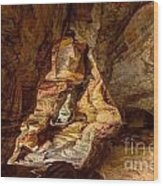 Rock House At Hocking Hills Oh Wood Print