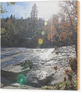 Rock Mountian Yosemite Wood Print