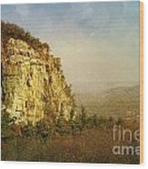 Rock Of Ages Wood Print