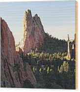 Rock Of Ages Wood Print by Eric Glaser