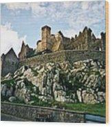 Rock Of Cashel Castle Ireland Wood Print