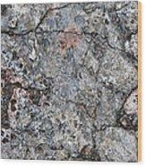Rock Painting Wood Print