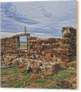 Rock Hills Prairie  Wood Print