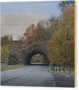 Rock Tunnel - Kelly Dive Wood Print