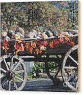 Rock Wagon Wood Print